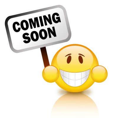 coming soon cartoon smile